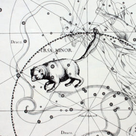 Di Johannes Hevelius - Atlas Coelestis. Johannes Hevelius drew the constellation in Uranographia, his celestial catalogue in 1690. Other sourses : http://astronomie-rara.ethbib.ethz.ch/zut/content/thumbview/133919, Pubblico dominio, https://commons.wikimedia.org/w/index.php?curid=6842280